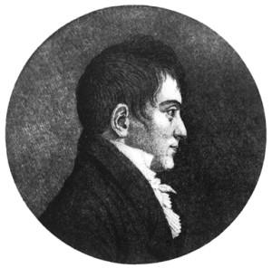 Gregers Winther Wulfsberg, (1780-1846). Kunstner: Flint,  Østfold fylkes billedarkiv.