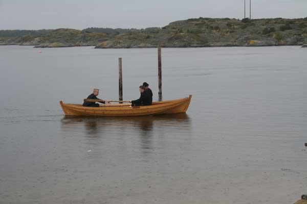 Rødsbrygga på Søndre Sandøy
