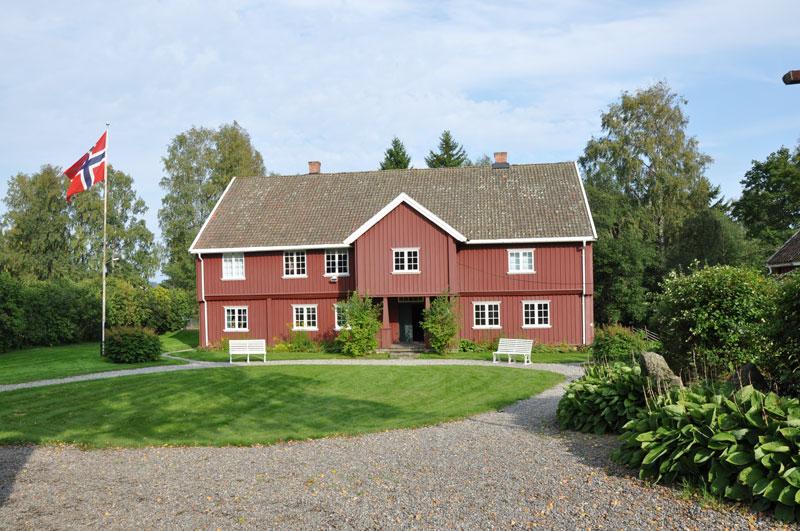 Narvestad på Folkenborg museum slik den framstår i dag. Foto: Ingvild Hasle.