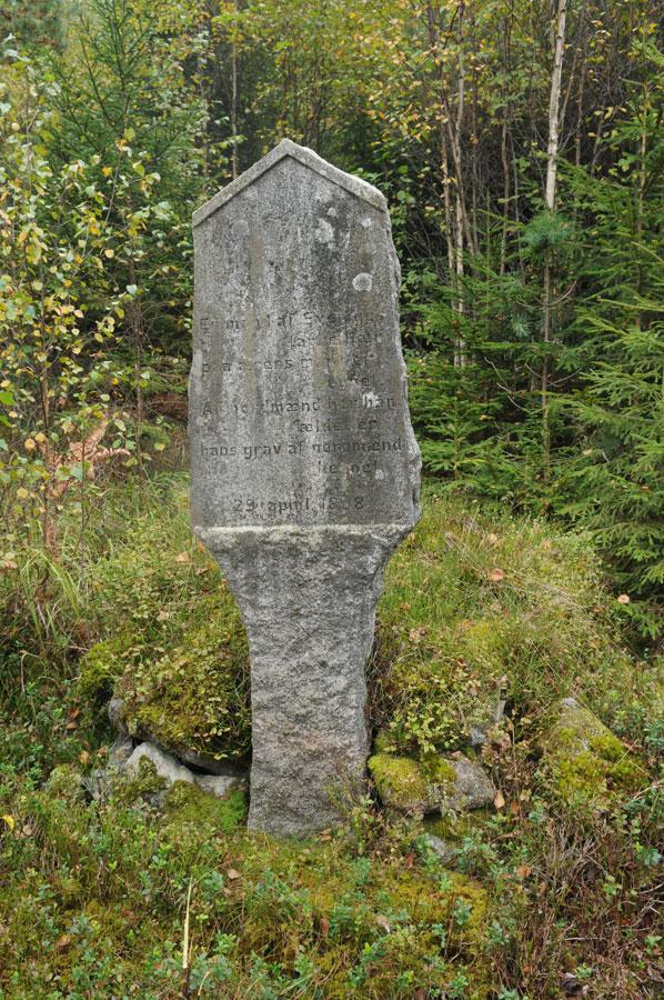 Den ukjente soldats grav på Killingrød i Enningdalen