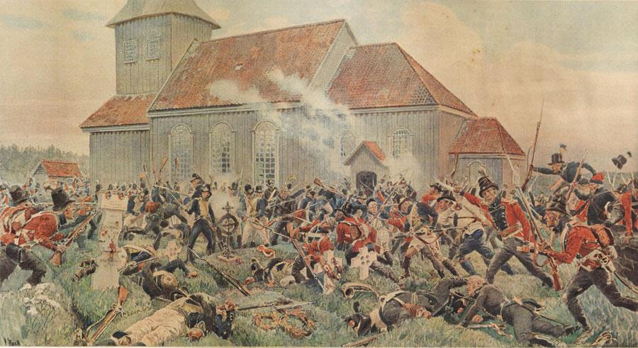 Affæren på Prestebakke 10. juni 1808 – » … en förbannad historia»