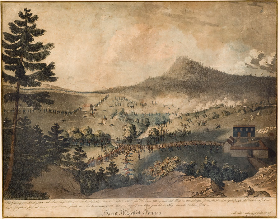 Kampene på Berby 12. september 1808