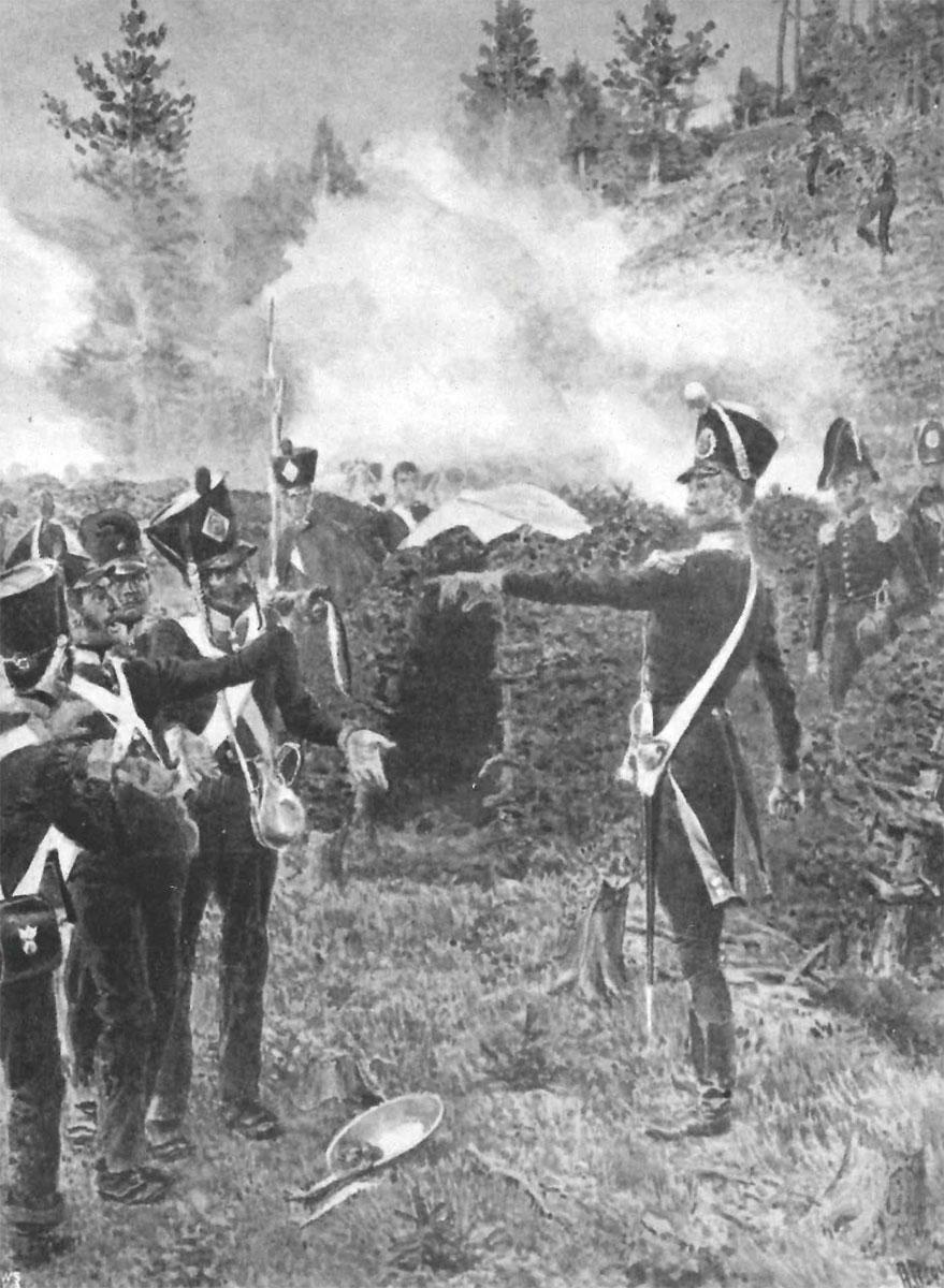 Le Royal Suédois – krigsfanger og desertører i svensk tjeneste 1813-1814