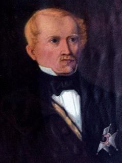 Oberst Carl Cederström (1782 – 1857) opptrådte som svensk parlamentær under beleiringen. Høsten 1814 var han en kort tid kommandant på Fredrikstad festning. Wikimedia Commons.