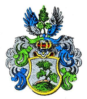 Familien Wijnblads (Wijnblahd) adelsvåpen.
