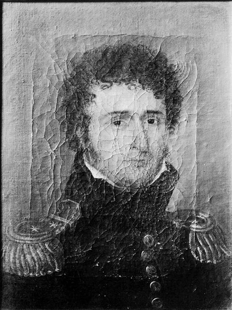 Brostrup Müller Schnitler (1776-1839). Norsk portrettarkiv, Riksantikvaren Malt av Jacob Munch.